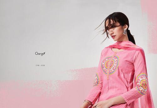 43eb0cfb0b Ganga Cotton Artistic Appeal Wholesale Salwar Suit, Rs 1345 /piece ...