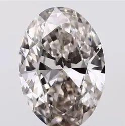 Oval Cut 2.20ct Lab Grown Diamond CVD J VVS2 IGI Certified Type2A