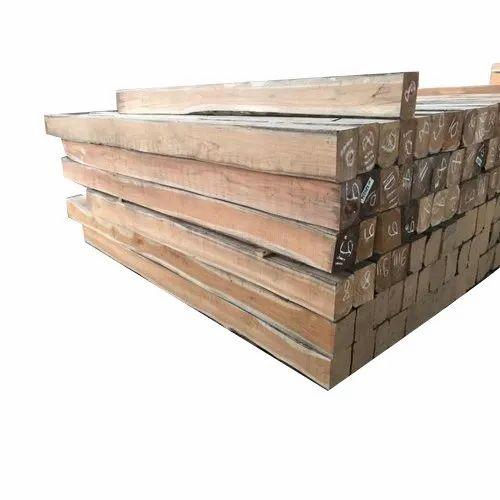 Teak Wood Square Burma Teak Timber Importer From New Delhi