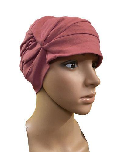 LIGHT PINK COTTON CAPS CHEMO BEANIES CANCER CAPS WOMEN SUMMER CHEMO CAPS  SLEEP TURBAN FOR WOMEN bb510f3b9e1d