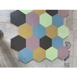 Urban Modular Glossy Ceramic Mosaic Tiles, Thickness: 5-10 mm, Size: 60 * 60 (cm)