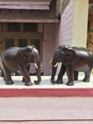 Wooden Rose Wood Elephant, For Home