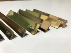 Stainless Steel T Profiles With Square Edge