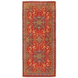 Red And Green Classical Carpet, Size: 60x24