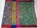 Printed Munga Silk Saree
