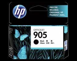 Black HP Cartridge, Model Name/Number: Officejet 905