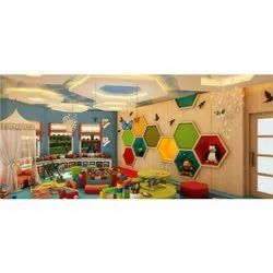 1 Month Play School Interior Designing Service, Work Provided: Furniture,False Ceiling