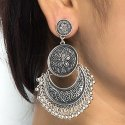 Fashion Oxidized Earring