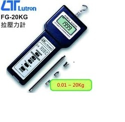 LUTRON - Force Gauges, Force Gauges Test Stand - FG-20KG, FG-5000A, FG-5005, FG-6020SD, FR-5120
