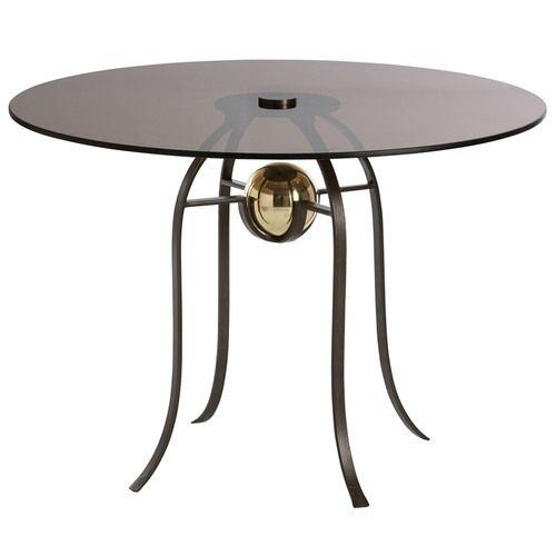 Wrought Iron Round Table.Wrought Iron Round Table