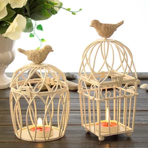 Multicolor Iron Hanging Cages Candle Holder Rs 250 Pcs Id
