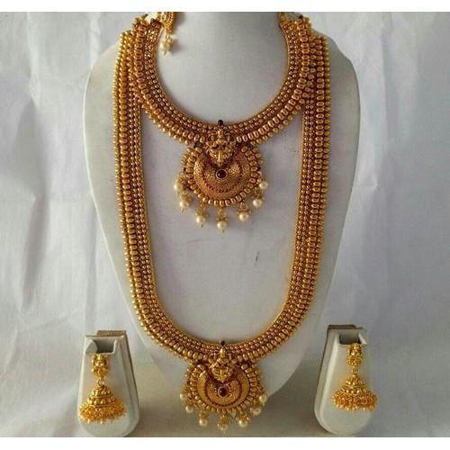 4de6a1aeac Bridal Copper Necklace Set, दुल्हन का हार का सेट ...