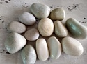 Creme Polished Pebbles, For Landscaping