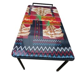Black Iron Folding Cot Bed