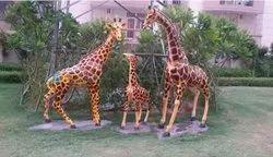Fiber Garden Animals Giraffe For Park UK-121