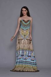 Digital Printed Gown