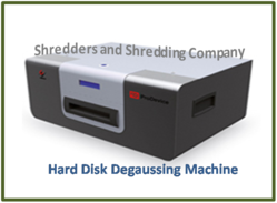 Hard Disk Degaussing Machine