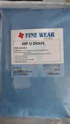 Non-Woven Disposable Surgical Hip U Drape