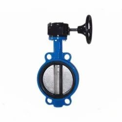 CI Gear Operated Butterfly Valve