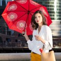 Windproof Double Layer Folding Portable Umbrella With Bottle Cover - Bottle Umbrella