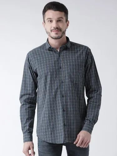 Pure Cotton Slim Routeen Men' s Casual Shirts