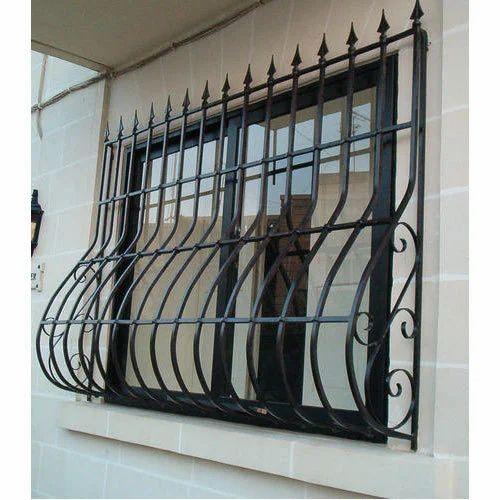 Mild Steel Window Safety Grill