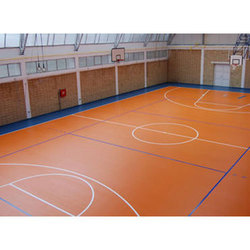 Basketball Vinyl Flooring