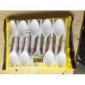 Milky White Spoon
