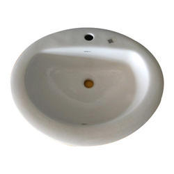 White Ceramic Wash Basin
