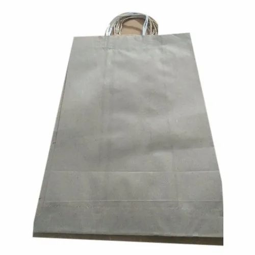 Plain Brown Kraft Paper Bag, Capacity: 1-5 Kg