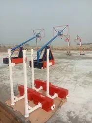 KD Basketball Pole Set