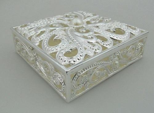 Enamaled Jewellery Box