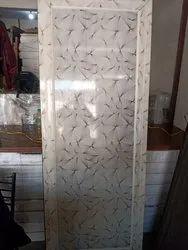 Slide & Fold Glossy Pvc Door, For Bathroom