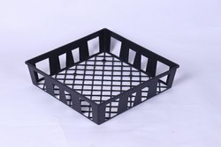 Black Nursery Tray 17X17X4