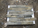 D Grey Stone Wall Panel