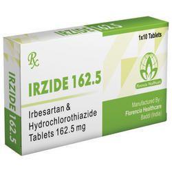 Irbesartan & Hydrochlorothiazide Tablets 162.5mg