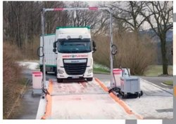 Disinfection Tunnel For Entrance Of Cargo Trucks And Car