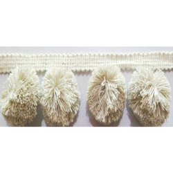 Pom Pom Fancy Fringe Lace