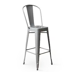 HV Powder Coated Metal Chairs, For Cafe, Size: 42*30*16