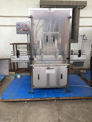 TwinHead Volumetric Filling Machine