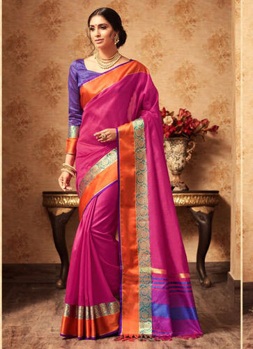 4202da85d8 Casual Wear Jute Silk Sarees Wholesale Collection, Party Wear Saree ...