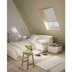 白色pvc skylight窗帘