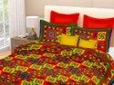 Double Bed Sheet Cotton with Pillow Cover