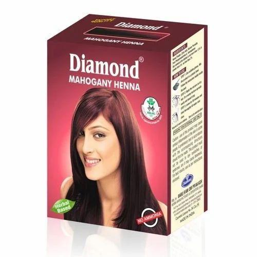 Diamond Mahogany Henna Herbal Hair Color