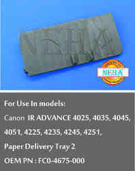 Paper Delivery Try 2, OEM PN : FC0-4675-000, For use in models: Canon IR ADVANCE 4025, 4035, 4045