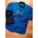 Collar Neck Pure Cotton Mens Printed Cotton Shirt