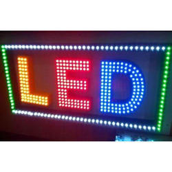 Led Sign Board In Vadodara Gujarat Led Glow Sign Board