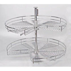 Kitchen Carousel At Rs 4200 /piece | Stainless Steel Baskets   Kasturi  Hardware, Chennai | ID: 14805262791