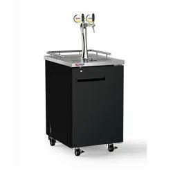 Dual Tap Draft Beer Dispenser