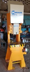 C Type Hydraulic Power Press Machine